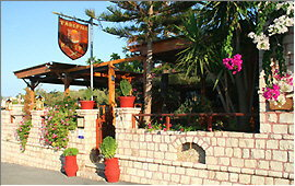 Taverna Kastro - Eingang