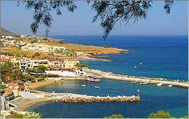Panormo: Blick auf den Hafen